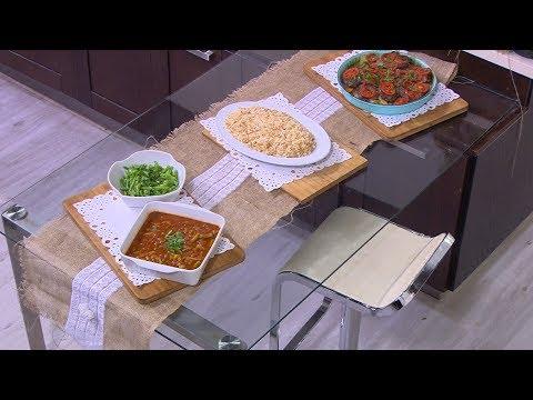صينية لحم - فاصوليا خضراء - أرز بالشعرية - سلطة فاصوليا: أميرة في المطبخ (حلقة كاملة)