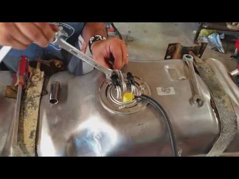 1984 C10 Project ---- LS Swap Part 3 (Plumbing The Fuel System)