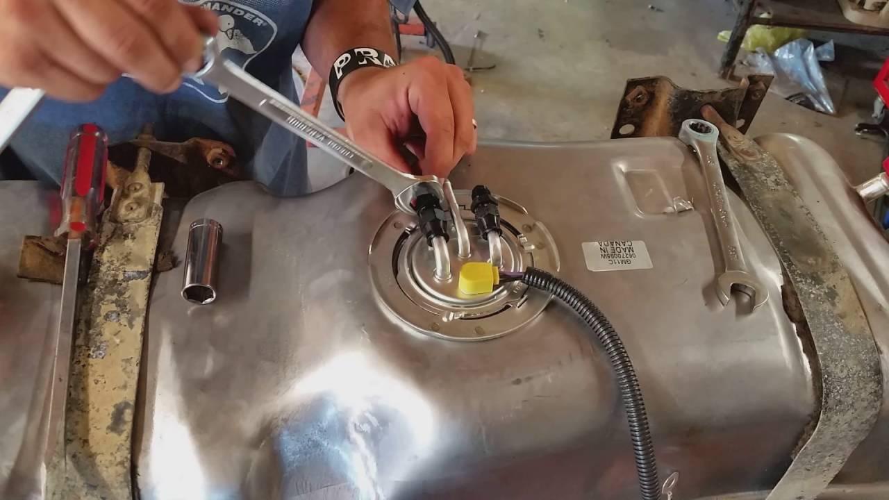 1984 C10 Project  LS Swap Part 3 (Plumbing The Fuel