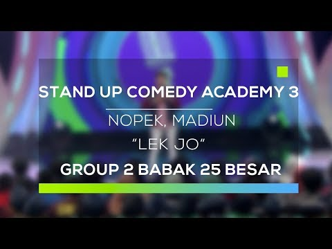 Download Youtube: Stand Up Comedy Academy 3 : Nopek, Madiun - Lek Jo