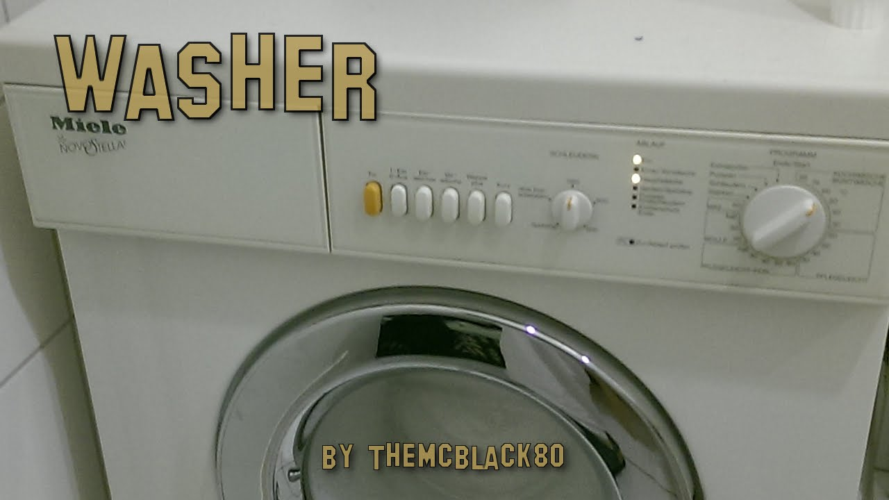 waschmaschine miele novostella youtube. Black Bedroom Furniture Sets. Home Design Ideas