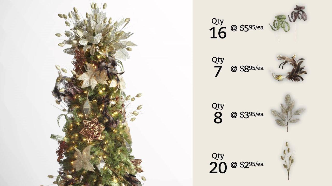 Pier 1 Imports: Enchanted Elegance Christmas Tree - YouTube