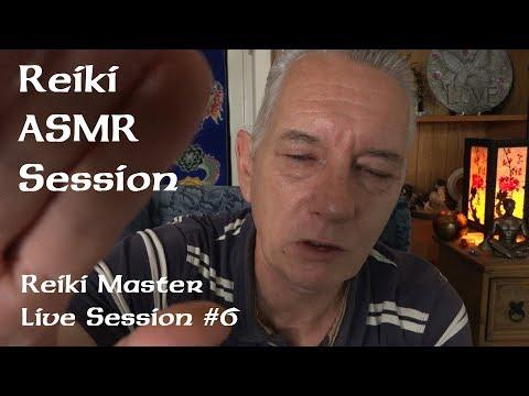 Reiki ASMR Healing Session - Reiki Master Energy Healer - Mind Body & Spirit - live #6