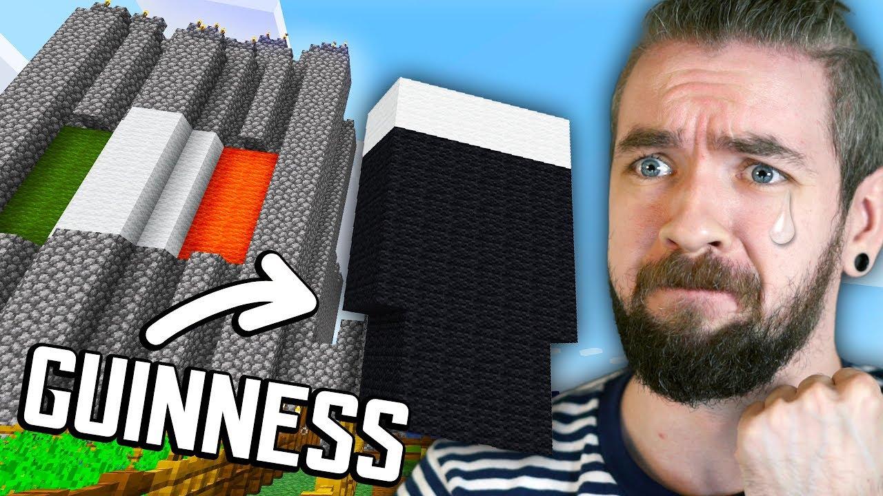 Ich habe das irischste Schloss gebaut, das ich in Minecraft bauen konnte + video