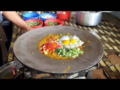 Yummy ! Special Egg Dish Recipe  || Yadav butter Omelette Center , Surat || Surat Street Food
