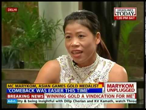 Mary Kom speaks about her struggles behind Asian Games gold medal