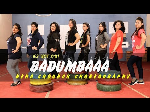 BADUMBAAA ! 102 Not Out |Bollywood Zumba Dance Workout Neha Chouhan Choreography |Dance Tags Academy