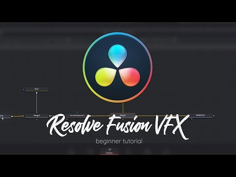DaVinci Resolve Fusion Tutorial - VFX For Beginners in 14 MINUTES!