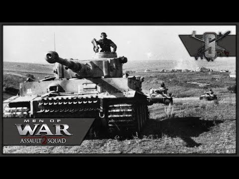 2 Tigers vs a Billion T-34's - Robz Mod & 5 Year March Mod - MoW:AS 2