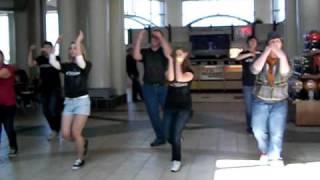 Flash Mob at Lindale Mall Cedar Rapids Iowa