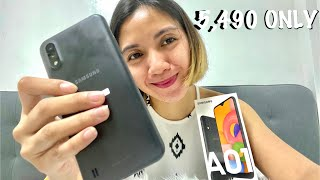 UNBOXING SAMSUNG a01 & REVIEW! | MARIA GOMEZ