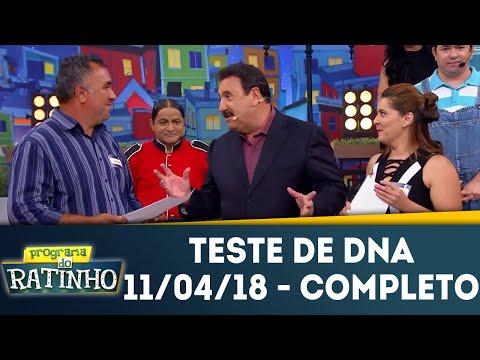 Teste De DNA - Completo | Programa Do Ratinho (11/04/18)