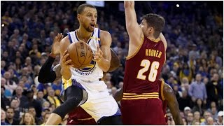 Stephen Curry 20 Points, 11 Assists vs Cavaliers   01.16.17