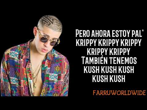 Krippy Kush Remix (Lyrics) - Farruko Ft. Nicki Minaj, 21 Savage, & Bad Bunny