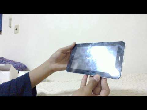 Unboxing of Huawei mediapad 7 youth
