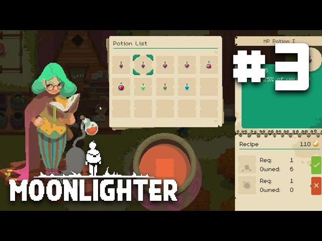 The Power of Alchemy & Enchants - EP 3 - Moonlighter Let's Play