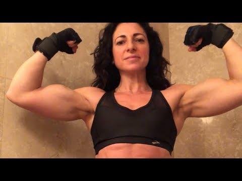 GISSELLE SASS: From Skinny to Super Muscular Sexy Womanиз YouTube · Длительность: 1 мин56 с