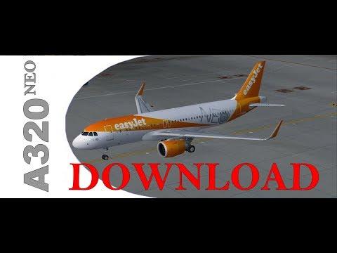 FSX P3DV4 A320NEO DOWNLOAD - YouTube