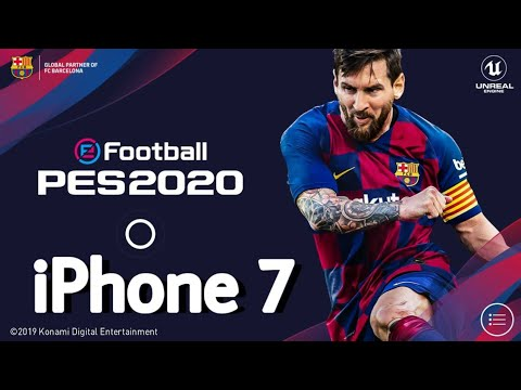 Photo of PES 2020 MOBILE First Gameplay on iPhone 7 – شركة ابل