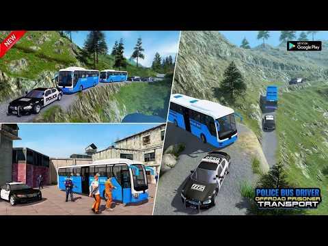 offroad us police bus 2020 criminal transport game hack