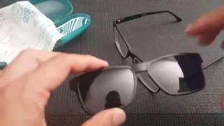 Zenni Optical magnetic Prescription polarized glasses Unboxing Review UV sunglasses