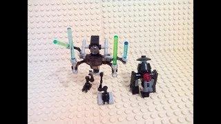 Lego star wars tuto création 4 comment fabriquer une unité R facilement