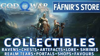 God of War - Fafnir's Storeroom All Collectible Locations (Ravens, Chests, Artefacts, Shrines)