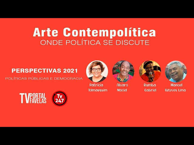 Programa Arte Contempolítica discute Políticas Públicas e Democracia: Perspectivas para 2021