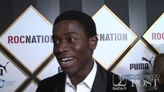 Damson Idris talks Snowfall Season 3, and his distaste for Gucci at Roc Nation, THE BRUNCH