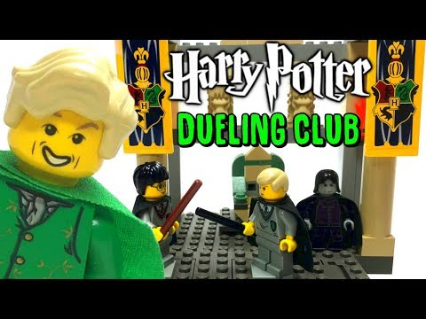 Classic LEGO Harry Potter 4733 The Dueling Club 2002 BrickQueen Review