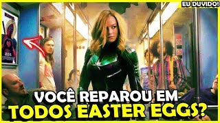 TODOS OS EASTER EGGS E REFERENCIAS DE CAPITÃ MARVEL