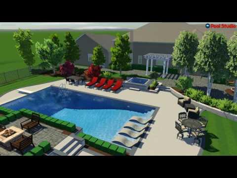 Mequon, WI Pool Studio Walk through - Updated Design