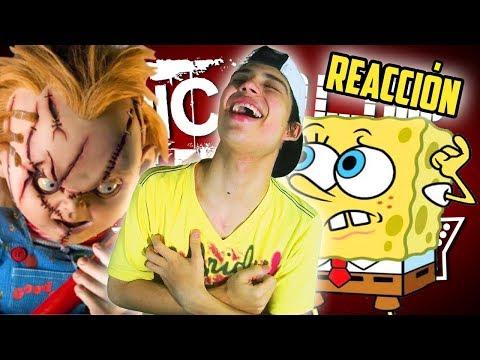 Chucky VS Bob. EPIC RAP BATTLES - Luisjefe1Vlogs (VÍDEO REACCIÓN)
