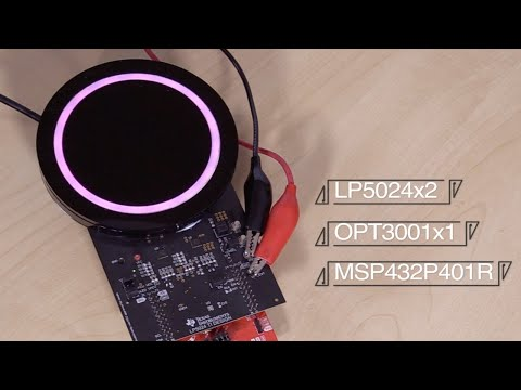 Demo: Implement complex LED patterns with the LED ring refer
