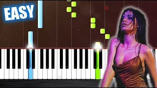 Camila Cabello Never Be the Same - EASY Piano Tutorial by PlutaX.mp3