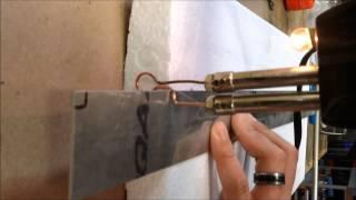 RC foam wing spar cutter