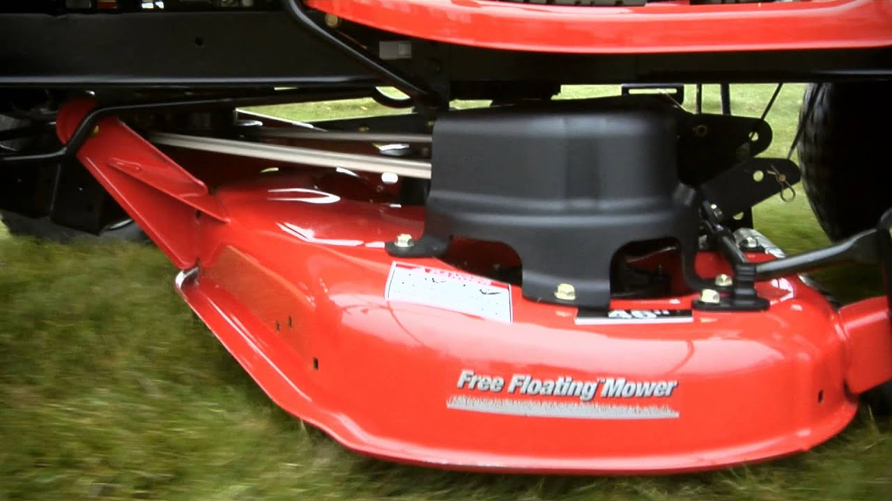 Lawn Striping with the Free Floating Mower Deck | Simplicity