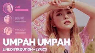 Red Velvet - Umpah Umpah (Line Distribution + Lyrics Color Coded) PATREON REQUESTED