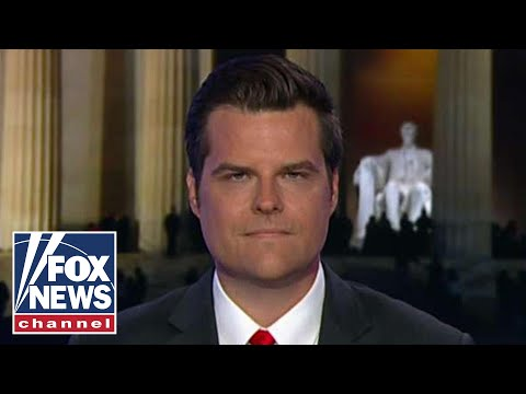 Rep. Gaetz speaks