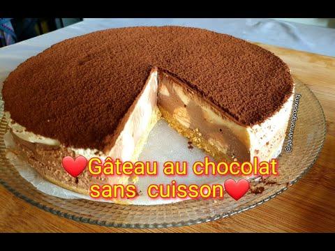 gâteau-sans-cuisson-au-chocolat_-no-bake-chocolate-cake-#gaohmongcooking