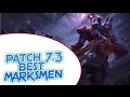 Best Marksmen | Adc Solo Queue Tier List | Patch 7.3 | ▲