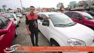 FIAT UNO VIVACE 1.0 2015 até 100% FINANCIADO É AQUI NA ALDO'S CAR MULTIMARCAS