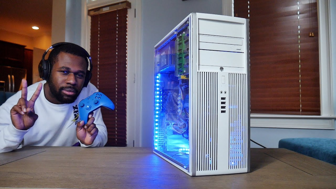 Download The Easiest (& Coolest!) $300 Gaming PC You Can Actually Build   OzTalksHW