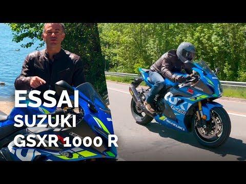 Essai Suzuki GSXR 1000 R 2019