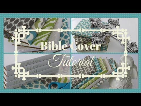 Easy Bible Cover Tutorial - YouTube