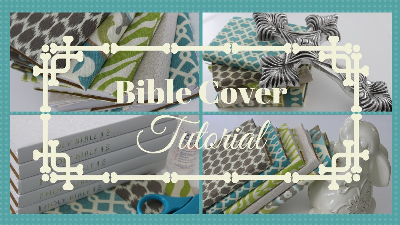 Easy Bible Cover Tutorial