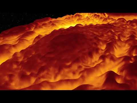 Jupiter's Massive North Pole Cyclones Seen In 3D Infrared View