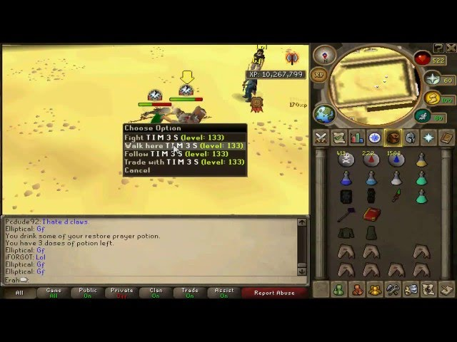 [RS] Frode47 tries bridding on my maxed main