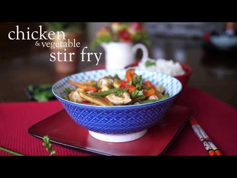 Slimming World Syn free chicken and vegetable stir fry recipe