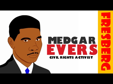Black History Month Videos: Who is Medgar Evers? (Biography for Kids)